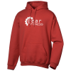 Gildan 50/50 Adult Hooded Sweatshirt - Screened