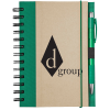Recycled Colour Spine Spiral Notebook