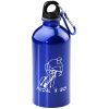 Carabiner Stainless Steel Water Bottle - 16 oz. - 24 hr