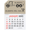 Stick Up Calendar - Propane Truck