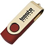 USB Swing Drive - Gold - 1GB