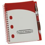 File-A-Way Notebook with Pen - Brights