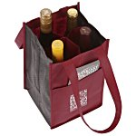 Non-Woven Four Bottle Bag
