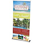 Rapid Change Retractable Banner Display