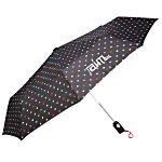 totes Auto Open/Close Umbrella - Polka Dot