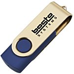 USB Swing Drive - Gold - 8GB