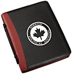Conference Ring Folio w/Notepad - Screened