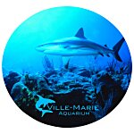 Vibrant Mouse Pad - Circle - Full Colour