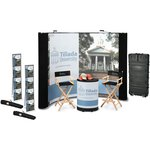 Deluxe 10' Pop-Up Floor Display - Mural Center - Kit