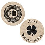 Wooden Nickel - Lucky