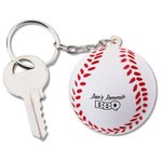 Sport Squish Key Tag - Baseball