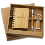 3 pc Bamboo Gift Set