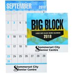 Big Block Appointment Calendar - Stapled