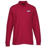 Soft Touch Pique LS Sport Shirt – Men's