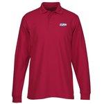 Soft Touch Pique LS Sport Shirt – Men's