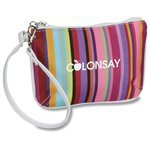 Multi-Stripe Wristlet - Closeout