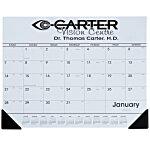 Desk Pad Calendar w/Vinyl Corners
