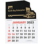 Stick Up Calendar - Semi Truck
