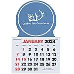 Stick Up Calendar - Circle