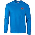 Gildan Ultra Cotton L/S T-Shirt - Embroidered - Colours