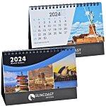 World Scenic Desk Calendar