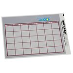 Removable Monthly Calendar Decal - Executive