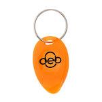 Tear Drop Lottery Scratcher Key Tag - Translucent