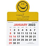 Stick Up Calendar - Smiley Face