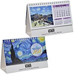 Impressionists Desk Calendar  - French/English