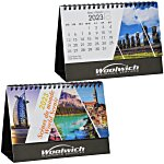 World Scenic Desk Calendar - French/English