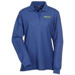 Soft Touch Pique LS Sport Shirt - Ladies'