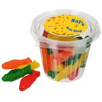 Round Snack Pack - Assorted Gummy Fish