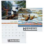 Wildlife Art Appointment Calendar - Stapled