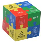 Fun Shapes Cube Calendar - Puzzle