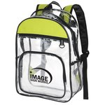 See-Through Colour Block Backpack