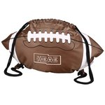 Game Time! Football Drawstring Backpack - Overstock