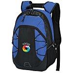 Bracket Laptop Backpack - Embroidered