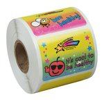 Super Kid Sticker Roll - Health Habits