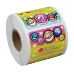Super Kid Sticker Roll - Smiley Faces