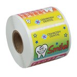 Super Kid Sticker Roll - Tooth Time
