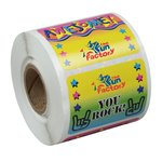 Super Kid Sticker Roll - Wow Words