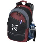 Reflective Stripe Computer Backpack - Closeout