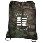 Outdoor Camo Drawstring Sportpack