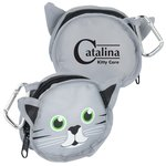 Paws and Claws Zippered Pouch - Kitten