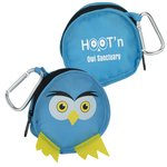 Paws and Claws Zippered Pouch - Owl