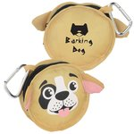 Paws and Claws Zippered Pouch - Puppy