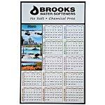 Four Seasons Span-A-Year Calendar - French/ English
