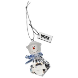 View a larger, more detailed picture of the Festival Collection Ornament - Snowman - Closeout