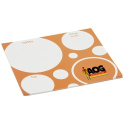 View a larger, more detailed picture of the Bic Note Paper Mouse Pad - Bubbles