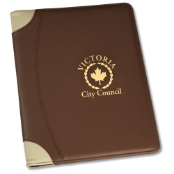 View a larger, more detailed picture of the Terrene Portfolio w Notepad - Closeout